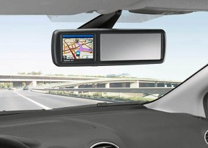 Ford Sat Nav Mirror