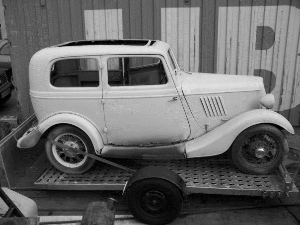 1935 Ford Model Y truck