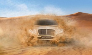 Bentley SUV official teaser picture