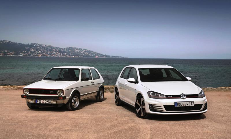 Volkswagen Golf's 40th birthday