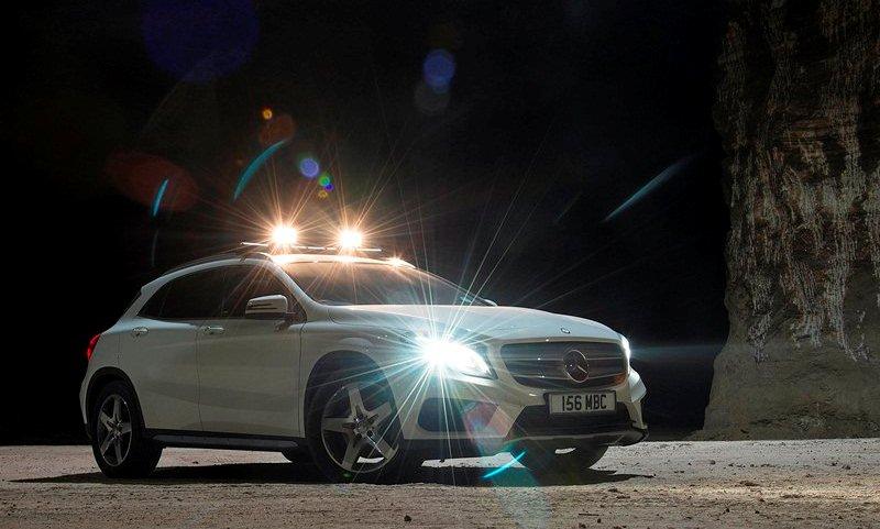 Mercedes-Benz unveils GLA compact SUV