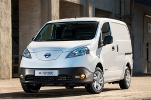 Nissan's E-NV200 all-electric van
