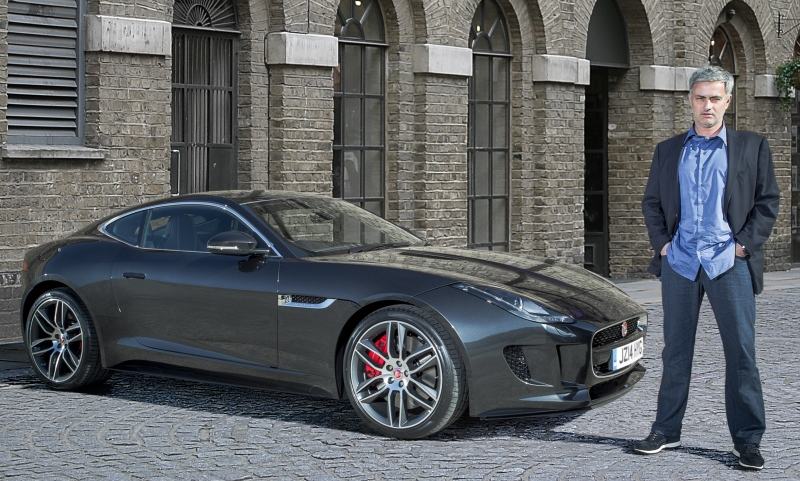 José Mourinho takes delivery of first UK Jaguar F-Type R Coupe