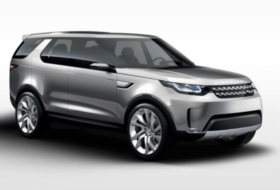Land Rover Discovery Vision Concept SUV