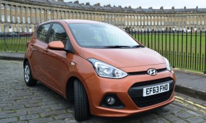 Hyundai i10 city car