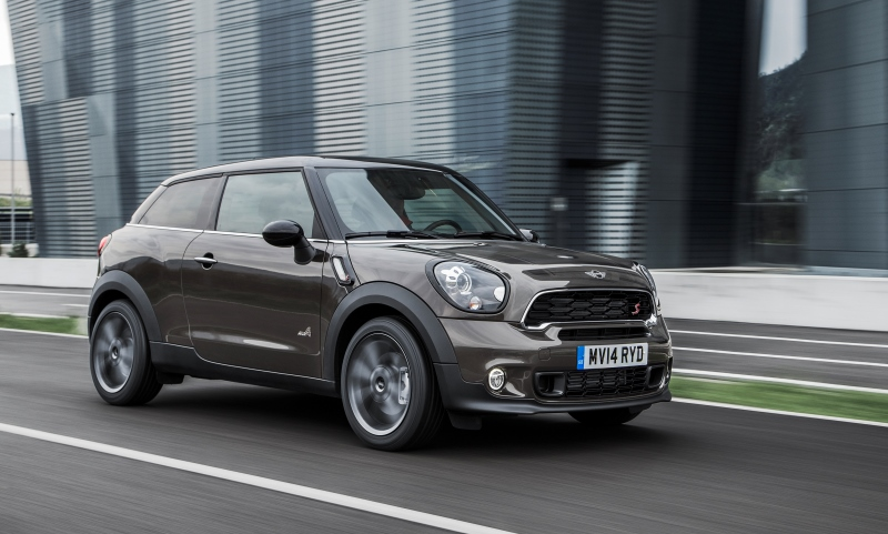 Revised MINI Paceman for 2015