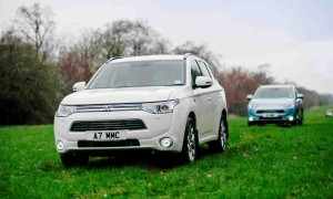 Mitsubishi Outlander PHEV (plug-in hybrid electric vehicle)