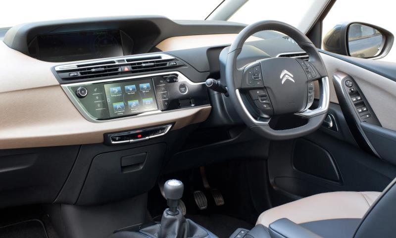 Citroen C4 Grand Picasso interior