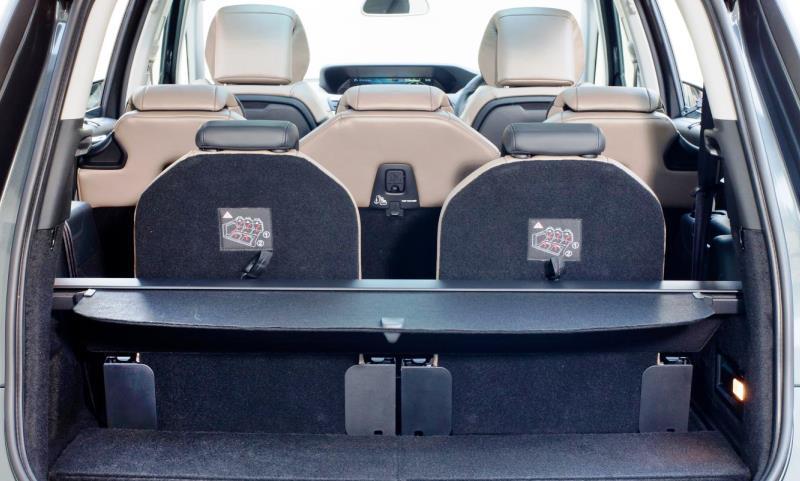 Citroen C4 Grand Picasso seating