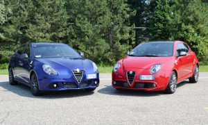 Quadrifoglio Verde versions of Alfa Romeo's Giulietta and MiTo