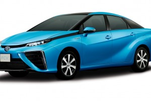Toyota Hydrogen Fuel Cell Vehicle revealed
