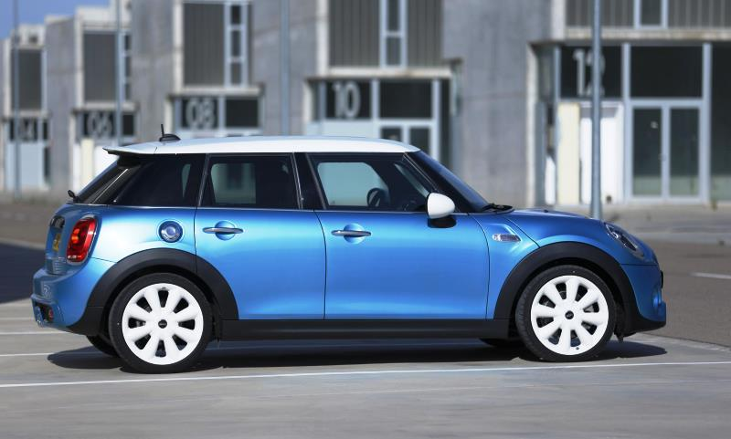 First five-door MINI hatch