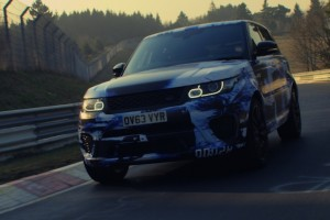 Range Rover Sport SVR breaks Nürburgring record