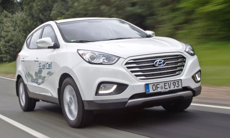 Hyundai's ix35 fuel cell vehicle