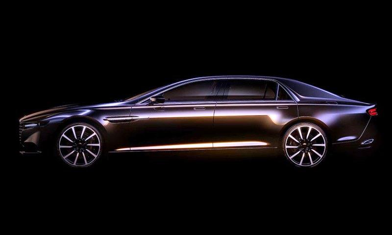 New Aston Martin Lagonda luxury super saloon