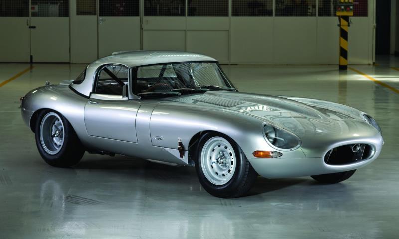 Lightweight E-Type Jaguar recreated