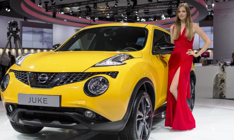 Revised Nissan Juke