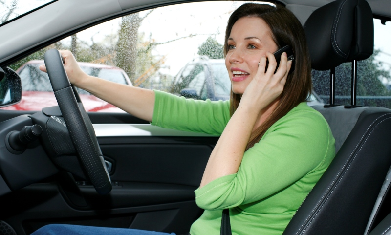 Driving while on the phone