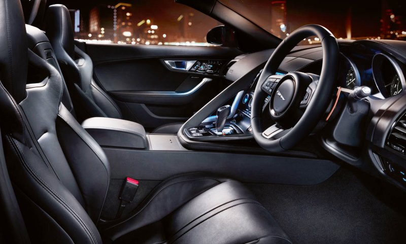 Jaguar F-Type V6S convertible