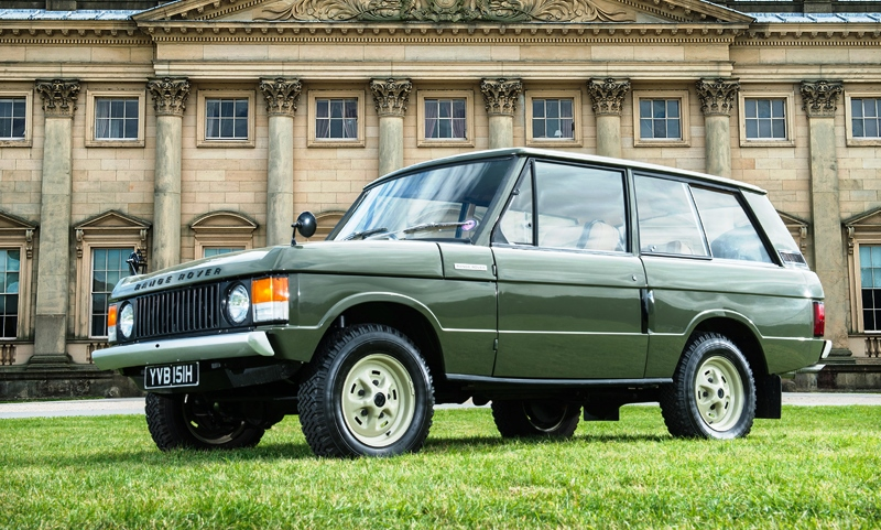 First ever Range Rover under the hammer