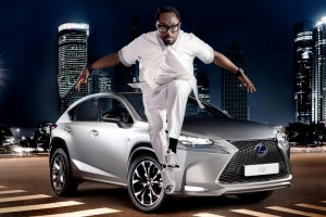 Will.i.am teams up with Lexus for NX launch