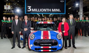 Three millionth 'new' MINI