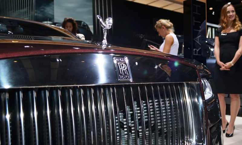 Rolls-Royce at the Paris Motor Show