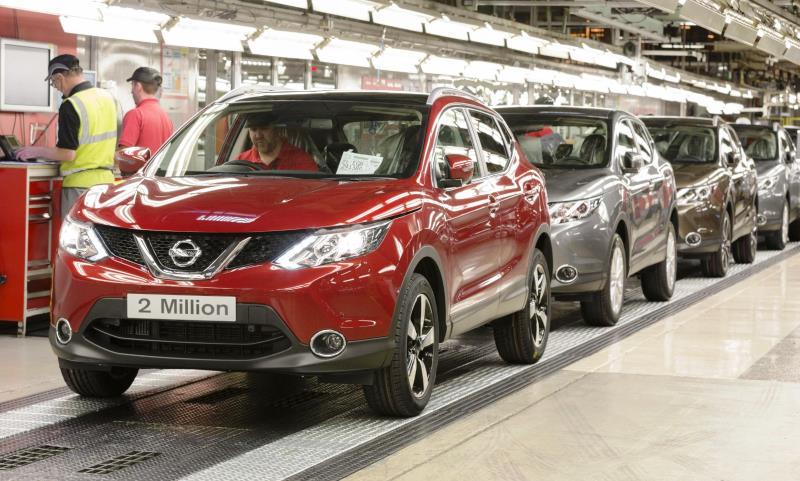 Two millionth Nissan Qashqai