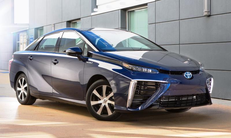 Toyota Mirai hydrogen fuel cell vehicle (FCV)