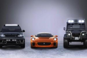 Jaguar Land Rover cars in new Bond movie