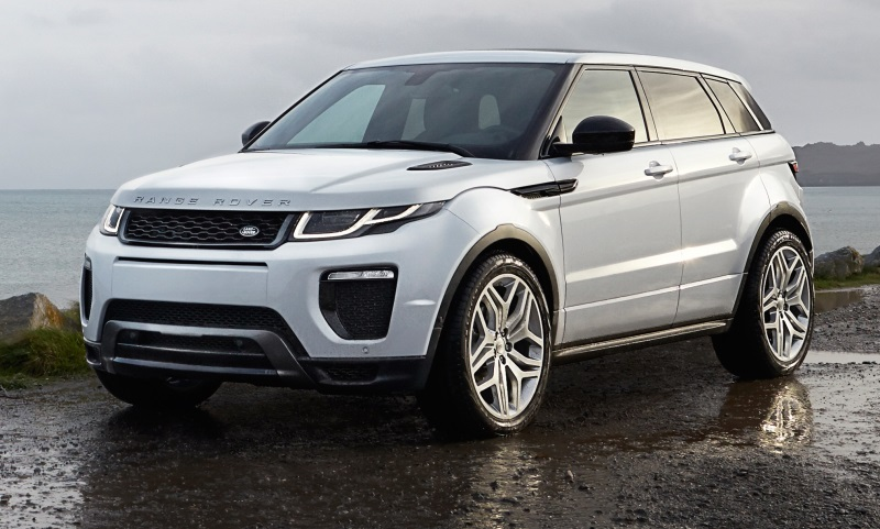Revised Range Rover Evoque