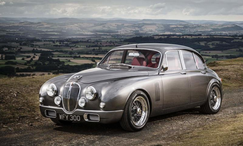 Ian Callum's custom Jaguar Mark 2