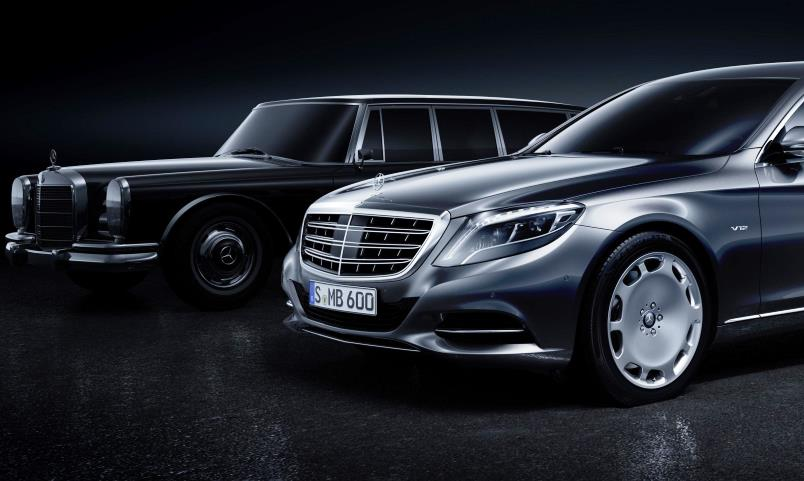 Mercedes-Maybach Pullman S 600