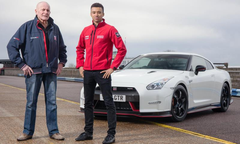 First UK customer to take delivery of the new Nissan GT-R Nismo gets a 1-2-1 with GT Academy graduate Jann Mardenborough.