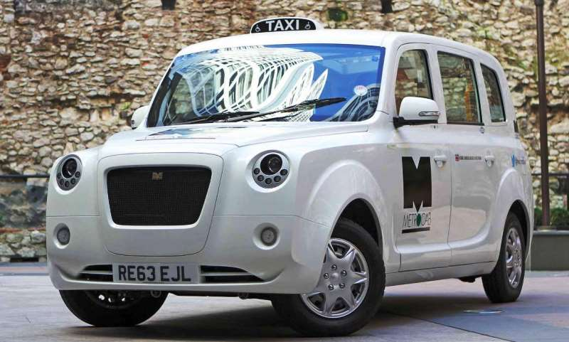 New 100mpg Metrocab