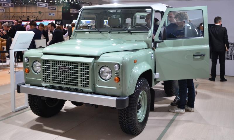 Land Rover Defender - Heritage special edition