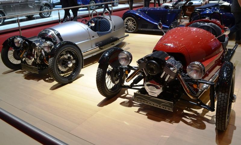 Morgan three-wheelers