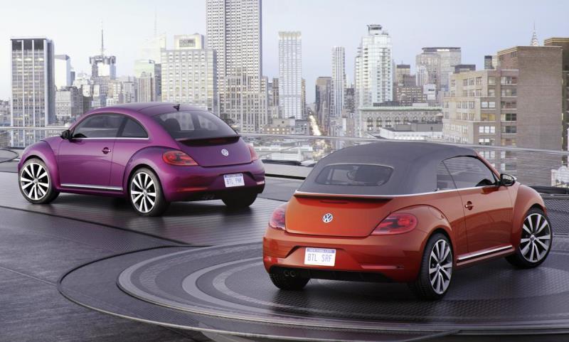 VW Beetle concepts