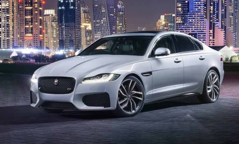 Jaguar XF at the New York Motor Show