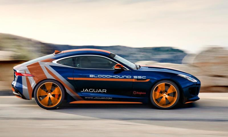 Jaguar F-TYPE Bloodhound SSC