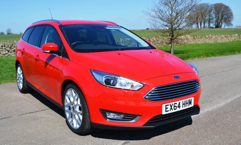 Review Ford Focus Titanium X estate
