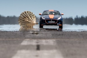 Jaguar F-Type Bloodhound SSC test