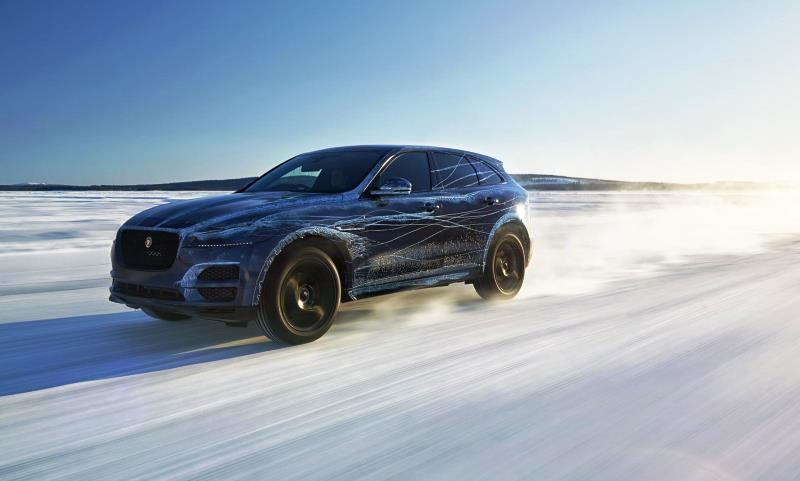 new jaguar suv tested to the extremes automotive blog. Black Bedroom Furniture Sets. Home Design Ideas