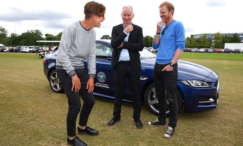 John McEnroe - Jaguar secret chauffeur