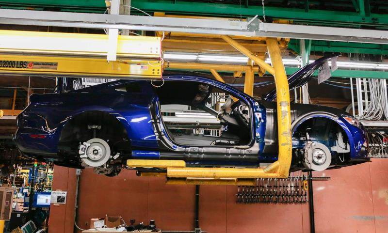 Ford Mustang production line