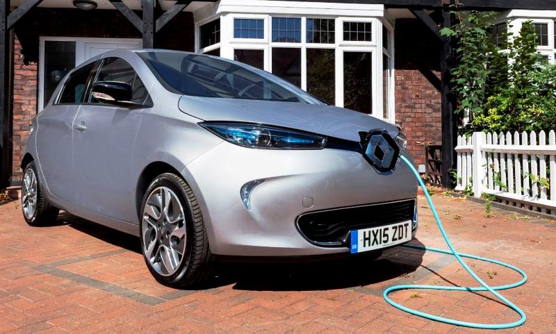 Renault ZOE home charging