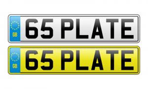 New 65 Plate