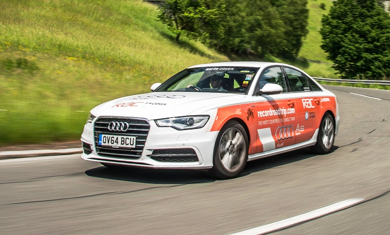 Audi fuel economy world record