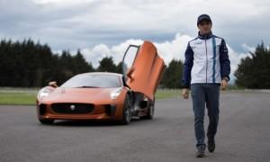 Felipe Massa and Jaguar C-X75