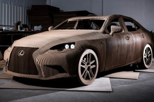 Origami Lexus IS
